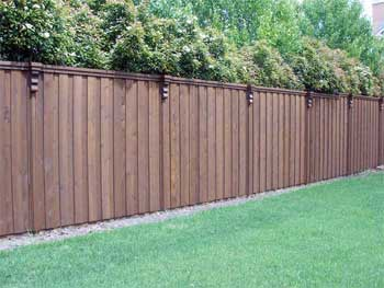 Fencing at Bruner Landscaping in Bloomington, Indiana